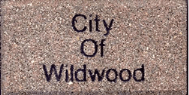 City of Wildwood writing on brick