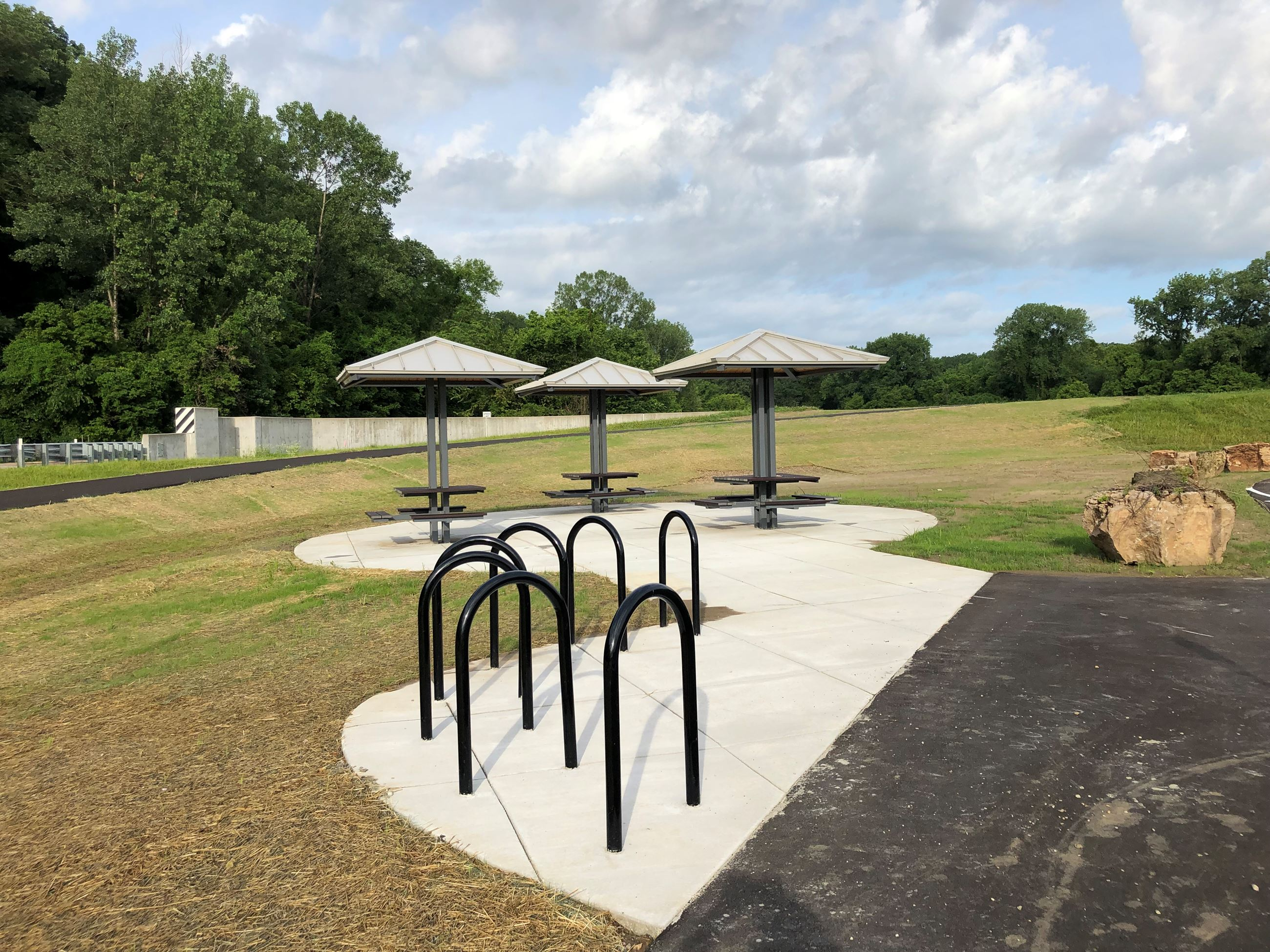 Picnic Area and Bike Racks